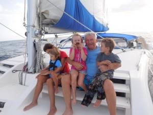 tu dziadek z wnukami