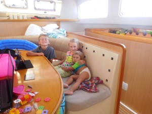...super dzielne dzieciaki - Ania, Ola i Staś