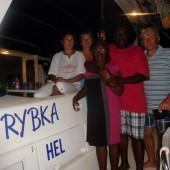 ..spotkaliśmy się z naszymi przyjaciółmi od 15 laty - Dorin i Steav'em na Dominice