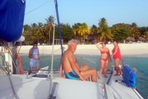 ..zatrzymaliśmy się jeszcze przy Palm Island..