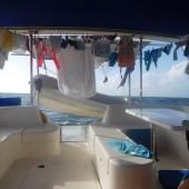 ..dużo dzieci, to dużo prania :-) oto nasz pokładowy bazarek...