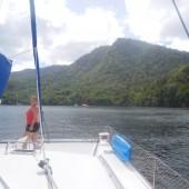 .. a na koniec dopłynęliśmy do Trynidadu...