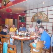...kolacja na Tahiti...
