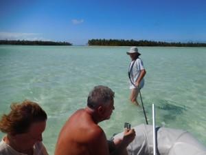 ...czasem trzeba było ciągnąć ponton...