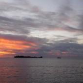 ...dopływamy do Bora Bora