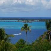 Bora Bora - rafa, domki na wodzie i cudowne kolory...