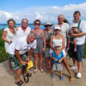 ..zorganizowaliśmy sobie wyieczkę po wyspie...