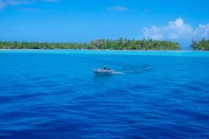 pierwsze snoorklowania, pierwsze kotwicowisko Coral River na Tahaa... - przepięknie!