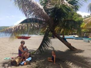.. i był czas na plażing...