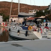s/y Denar w Loutra (Kithnos)