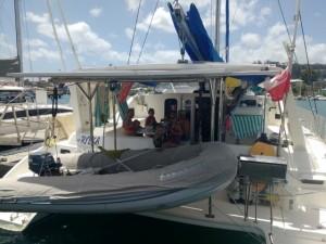 .. potem w Port Luis na Grenadzie..